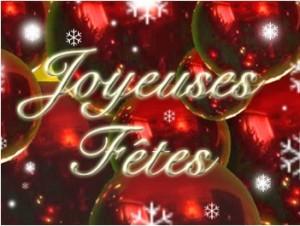 Joyeuses fêtes 2013