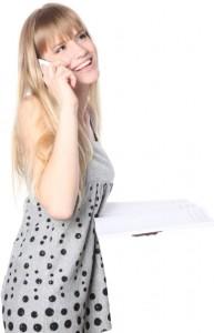 Client au téléphone
