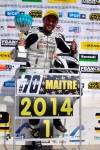 Champion de France!