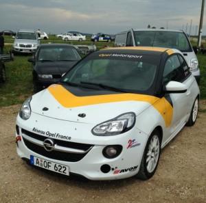 Nouvelle Opel Adam Cup