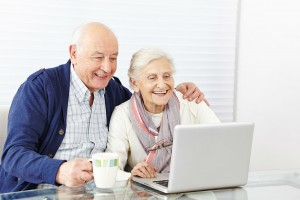 Des seniors e-clients actifs