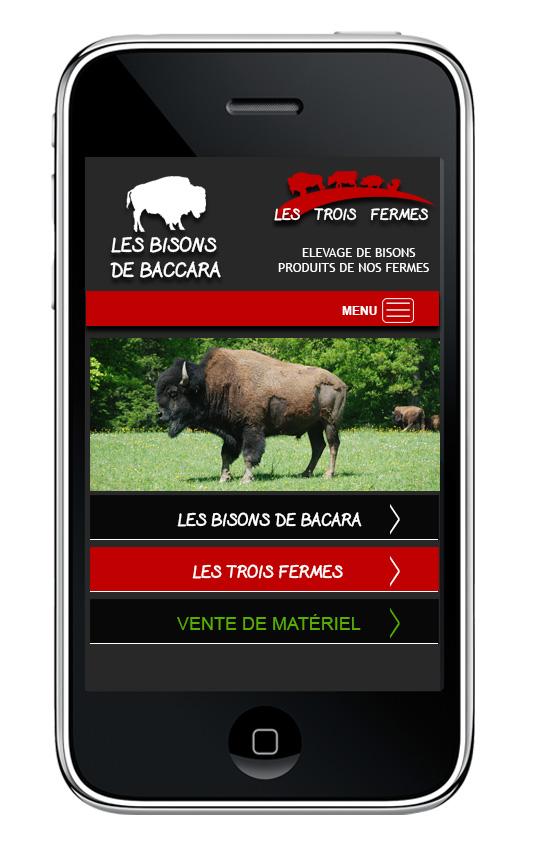 Les bisons de bacara sur mobile